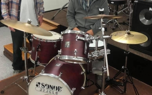 Beating the drum for young musicians